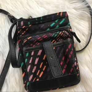 Roxy Cross Body Little Black Bag Boho Beachy